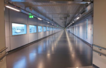 Another completed project – elements of the airport in Oslo