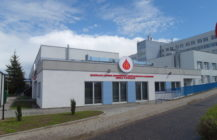 Blood donation centre in Suwalki, Poland.