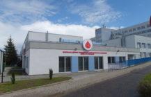 Blood donation centre in Suwalki, Poland.
